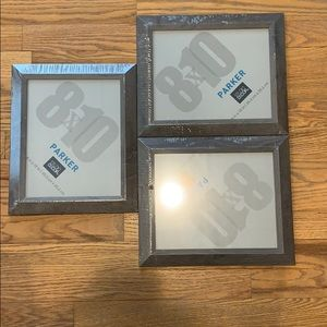(3) 8X10 Wall Frames